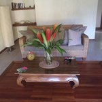 Inside our spacious bungalow