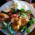 Fish N Chips .... opted for salad rather then chips