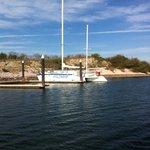 Deer Island excursion catamaran if booked through resort