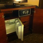 Mini Fridge and Save under TV!