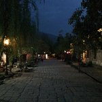 Shaxi old town in the evening, very peaceful