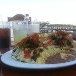 Tejas Taco meal