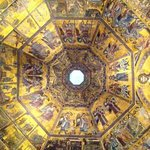 Inside the Baptistry dome...exquisite!