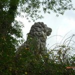 THE LION STANDS GUARD!