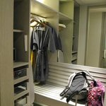 you even have your own wardrobe and bathrobes in your room