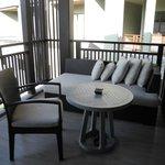 my own private balcony to escape