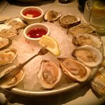 Half dozen of the FRESHEST oysters 1/2 price @ Happy Hour!