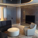 Our 26th floor Suite lounge
