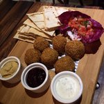 Their falafel platter