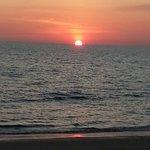 Best sunset at Roi thai