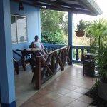 En trevlig bungalow vid sidan om River Kwai