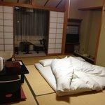 Room 209 at night