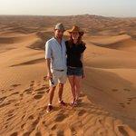Us in the desert