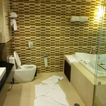 Big bathroom with massage pool