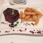 Filet Mignon, Grilled finest centre part of tenderloin (USDA)