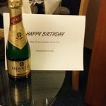 Nice touch from Beethoven Hampshire Hotel.