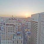 Blick aus unserem City View Zimmer (29. Stock)