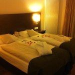 Zimmer mit Romantikpaket