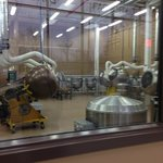 Typical view of chocolate production area from tour