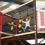 The New indoor play Area, Wow factor for kiddiewinks