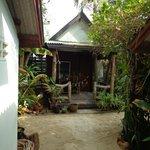 Il bungalow n. 5, in seconda fila con vista mare