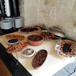 Breakfast - Varieties of Dry Fruits