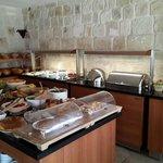 Breakfast - Varieties of Breads and Pastries
