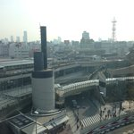 View from my suite - part of Namba City and Namba Park