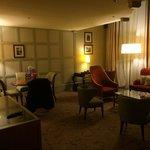 Le salon de la suite 224