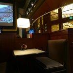 Interior of Le Burger Brasserie Las Vegas