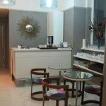 communal cafe/sitting area