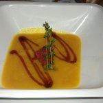 Тыквенный суп из постного меню. 200 р.