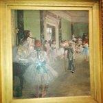 La lezione di danza - Degas