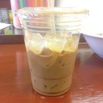 Amazing ice coffee!! As good as Starbucks for a fraction of the price.