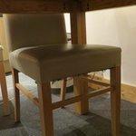dessous des chaises