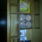 snacks in the minibar
