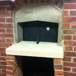 Our new Authentic Italian stone baked, wood fired pizza oven.