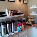 coffee bar continental breakfast