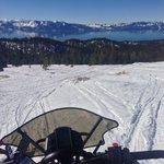 Highest snowmobile point in Tahoe