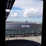Echo arena view from room 604