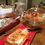 Detalle de la cocina-zona desayunos