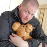 Cuddling bread... because it's CUTE bread...