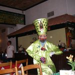 Taniec konkwisty w restauracji