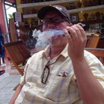 Havana Bob's is a must if you enjoy a fine Cuban in Cozumel.  Visiting with Bob at this fine loc