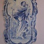 Tile rendition of St. Joseph