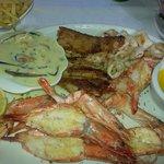 My Platter #Mussels #LineFish #Calamari #Prawns