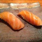 niguiris de salmon
