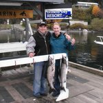 2001 We went out for the Chum Salmon Derby. Blast.