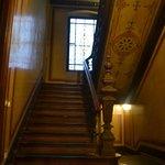 Лестница ведущая в отель