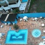 Vista da Piscina do Residencial Porto Príncipe